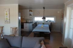 Kjøkken til venstre